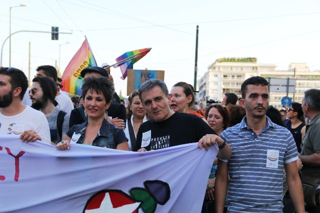Tsakalotos gay parade 2017