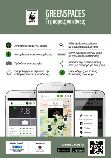 WWF GreenSpaces App